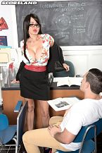 Teach Is Big busted!