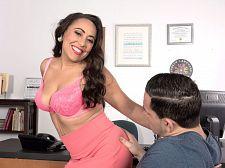 Gabriella Sky's astounding oral joy skills
