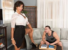 Lyla copulates her boyfriend's son
