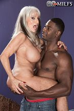 Sally takes on Jax Black's larger than typical cock