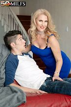 Lacy's future son-in-law bonks her taut ass